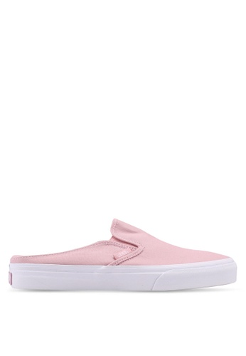 VANS pink Canvas Classic Slip On Mule VA142SH0SWTDMY_1