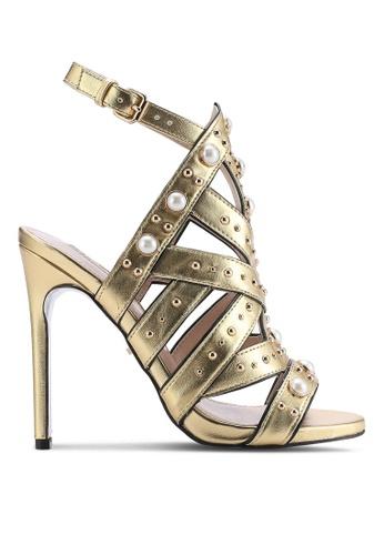 Carvela KG gold Embellished High Heels CA459SH90ONLMY_1