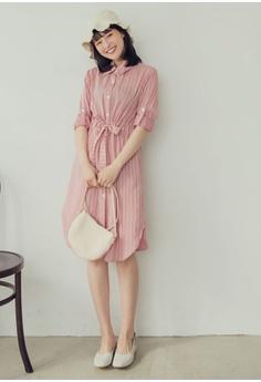 e07ff4f6 40% OFF Eyescream Stripe Shirt Dress RM 159.00 NOW RM 94.90 Sizes One Size
