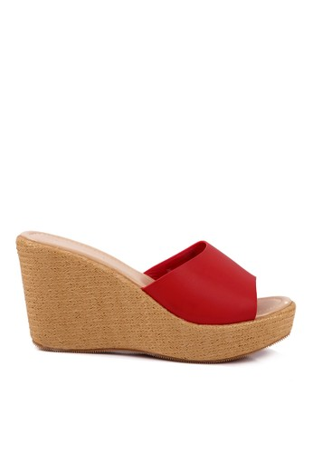 Clarette red Clarette Wedges Crystaline Red CL076SH02QHXID_1