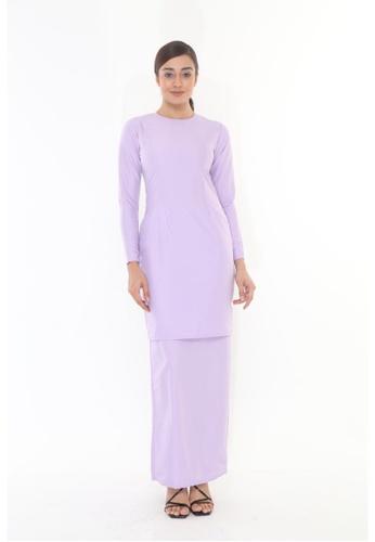 Amar Amran purple Baju Kurung Moden Qasandra E93E2AA08B1EB2GS_1