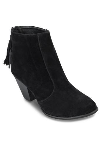 esprit holdingsGordon 流蘇低筒高跟靴, 女鞋, 鞋