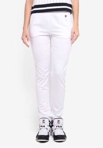 FILA white Tennis Knit Pant CFBE6AA78C523BGS_1