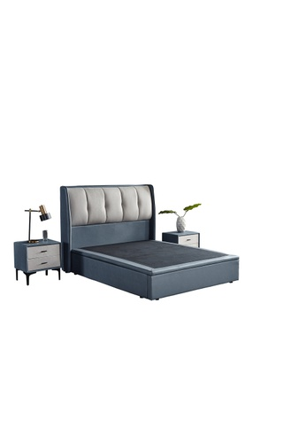 AMOUR AMOUR Premium PU leather Storage Bed 31C01HLBDE8E0FGS_1