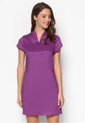 esprit holdings中式領連身裙, 服飾, 短洋裝
