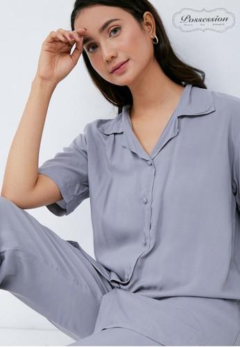 Possession grey Possession Pajamas Hanna Set 9104 GY 7E4FAAAC482F0DGS_1