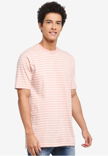 Factorie multi Original Striped Tee 1C365AA7A0A0A9GS_1