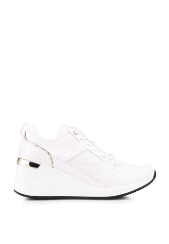 ALDO white Thrundra Platform Sneakers D5886SH6626E96GS_1