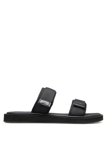 Twenty Eight Shoes black Double Straps Flip Flops VMS016 8D8A6SHD8C2A5FGS_1