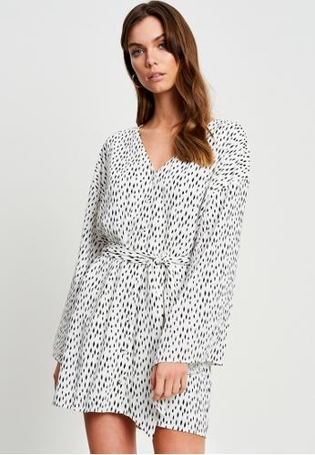 Tussah white Dallas Mini Dress CA527AA08C0813GS_1