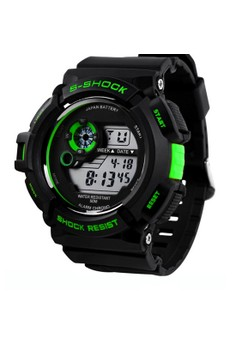 Military LED Water Resistant Sports Wristwatch SKM-0939