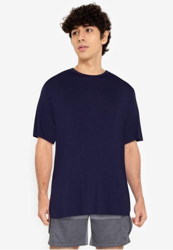 ZALORA BASICS multi Two Tone T-Shirt DF6A4AA3D59C52GS_1