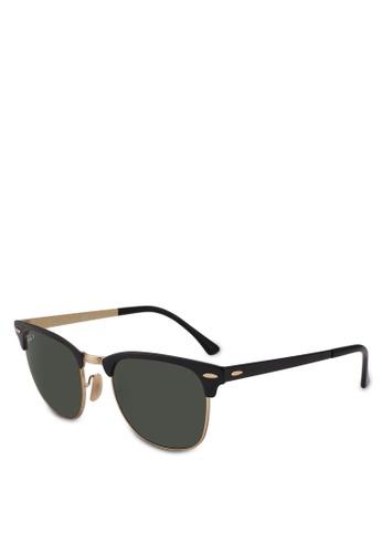 Ray-Ban 黑色 RB3716 Sunglasses B93CAGL481DA59GS_1