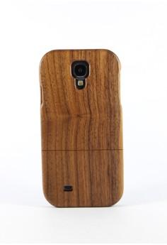 Genuine Wood Full Cover for Samsung S4