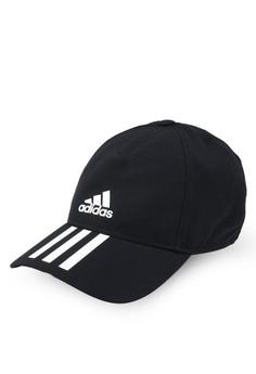 adidas black adidas c40 3-stripes climalite cap 9C44FACDC0A320GS 1 0e690554d4c