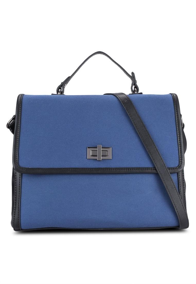 Canvas Turnlock Bag