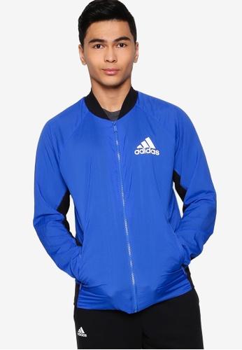 ADIDAS blue m vrct light jacket 79BD1AAE164556GS_1