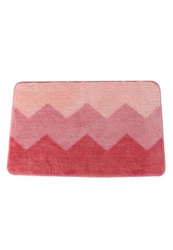 Primeo pink Premium Anti-Slip Microfiber Coral Bath Mat High Absorbent D7920HL2866411GS_1