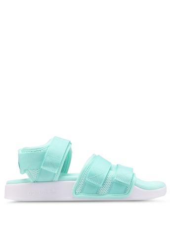 adidas 綠色 Originals Summer Adilette 2.0 涼鞋 9E63FSHF187E06GS_1