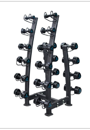 LIVE UP AND LIVE PRO. black 10 Pairs LivePro Studio Dumbbells Rack FFCAFSEDFF25A1GS_1