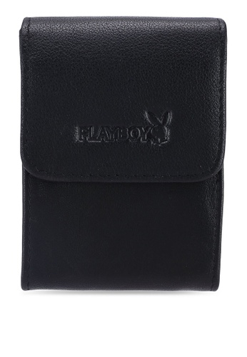 Playboy black Playboy RFID Blocking Card Holder 2576BAC3020926GS_1