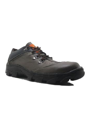 Cut Engineer grey Cut Engineer Not Safety Boots Genuine Leather Dark Gray CU226SH34VUJID_1