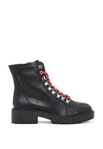 RAG & CO 黑色 黑色系带靴子 RCSH1741 4ADC3SHB555014GS_1