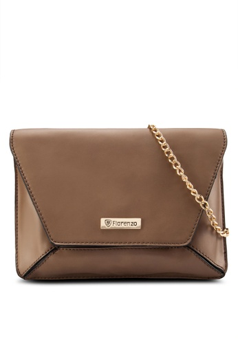 florenzo brown Florenzo Envelope clutch Bag FL898AC0RUSJMY_1