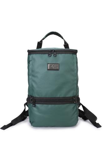 DUSTY green Twin-Bucket backpack(L) 2A704ACEC0934BGS_1