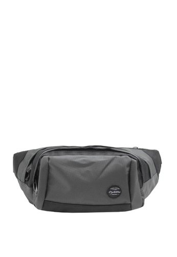OPTIONS black and grey Trail Waist Pouch 3F7E2AC3F98F2CGS_1