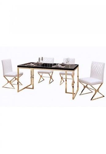 Choice Furniture black Choice Furniture - Diara Dining Set 6EA39HL30E8A28GS_1