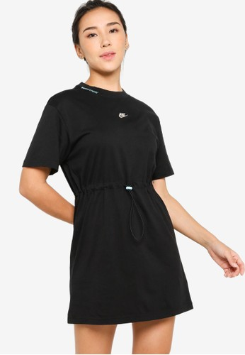 Nike black Logo Dress BC50AAA057CFFEGS_1