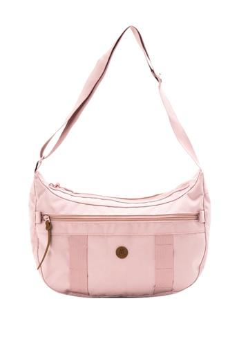 MORAL pink Napier Satchel - Large - Dusty Pink DAF51ACA3D8253GS_1