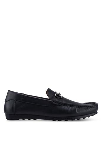 Carlton London 黑色 懶人樂福鞋 F5800SH3670115GS_1