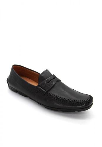 Sebago black Hugo Penny Driving Shoes C6B00SHF2292C0GS_1