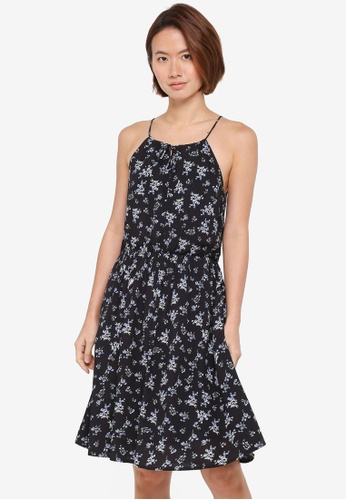 ZALORA black Cut In Strappy Dress 0BB06AA567957EGS_1