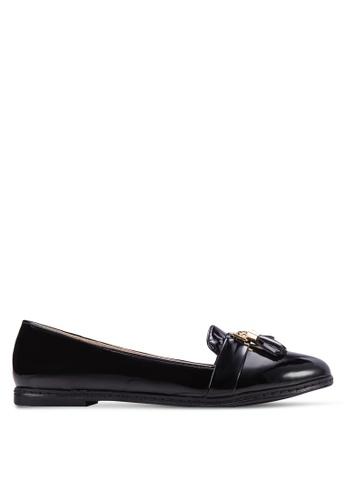 ZALORA 黑色 Tassel Loafers ADMBOSH0000019GS_1