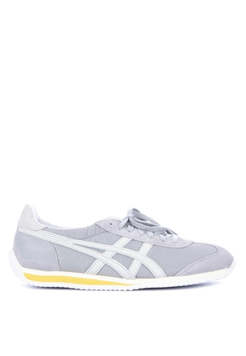 Onitsuka Tiger grey and multi California 78 Vin Lace-up Sneakers F18B0SHA247A0EGS_1