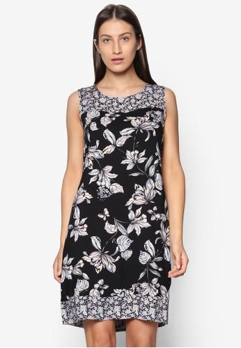 Black Orienesprit 請人tal Printed Tunic Dress, 韓系時尚, 梳妝