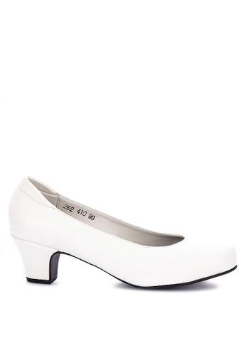 0d4cf7fcad845 Shop Janylin Mid Heels Court Shoes Online on ZALORA Philippines