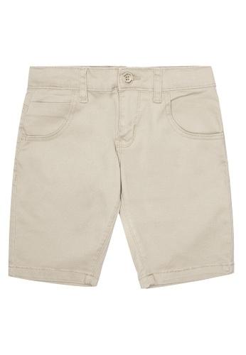BOSSINI KIDS grey Chino Shorts E8650KA89ECD80GS_1
