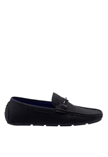 Antton & Co black Antton & Co Flower  - Buckle Loafer In Black C0842SH73BA881GS_1