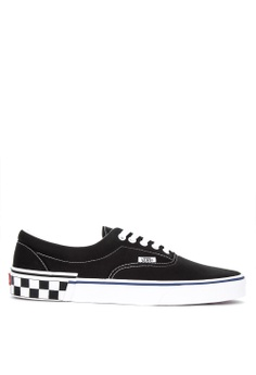 0ab4f5b42f5 VANS black Check Block Era Sneakers 7E873SHD260B66GS 1