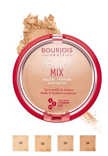Bourjois beige Bourjois Healthy Mix Powder AntiFatigue - 03 Dark Beige 93FFEBECA76C29GS_1