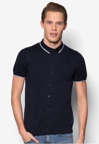 esprit服飾針織短袖襯衫, 服飾, 服飾