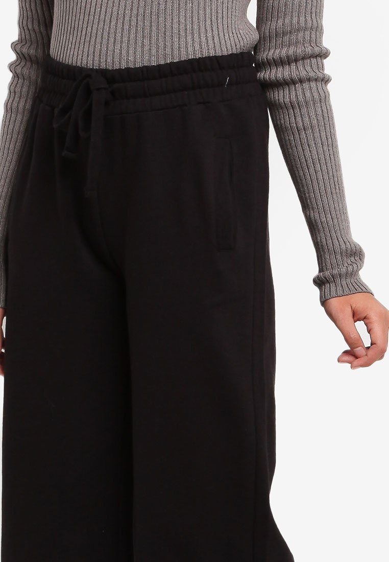 Wide Toronto Factorie Black Trackpants Leg XUAxaY