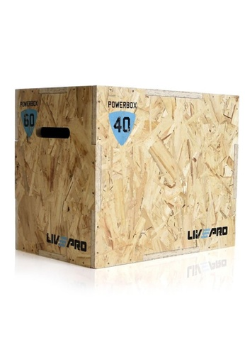 LIVE UP AND LIVE PRO. 3 in 1 Wooden Plyo Box 3CF48SE6D3A55FGS_1