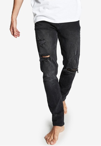 Cotton On black Slim Fit Jeans 169C8AAB77EB36GS_1