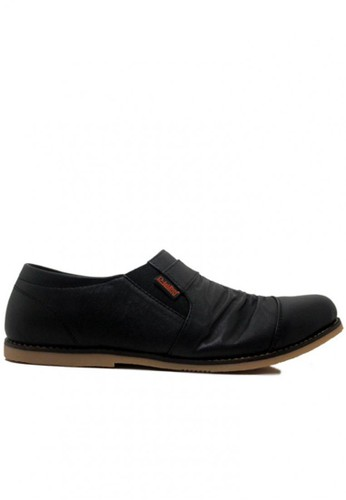 D-Island black D-Island Shoes Wrinkle Slip On High Quality Kulit Asli Black DI594SH87SVCID_1