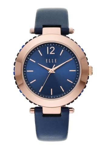 ELLE blue Marais Watch ELL23014 B3437ACCE1C8B9GS_1